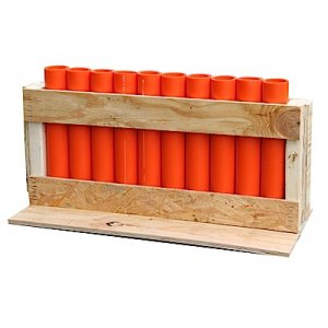 "10 Shot Rack with 12"" DR11 Mortars"