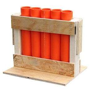 "5 Shot Rack with 12"" DR11 Mortars"